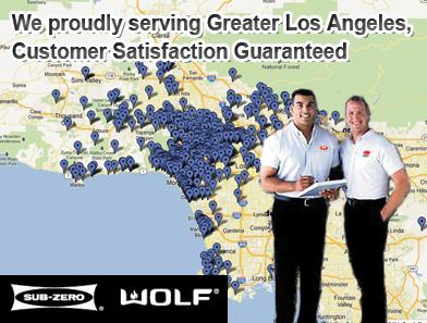 Sub Zero Refrigerator Repair Specialists In Los Angeles